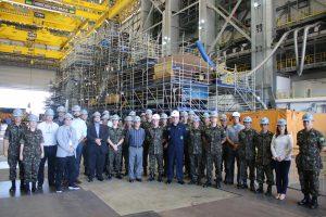 Read more about the article Visita ao projeto do Submarino Nuclear Brasileiro