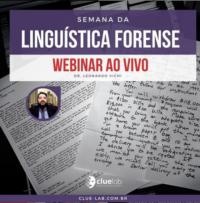 WEBINAR: Semana da Linguística Forense