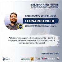 Palestra: Simpósio internacional em comportamento não verbal