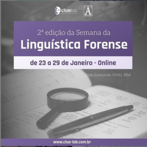 Read more about the article 2ª Semana da Linguística Forense