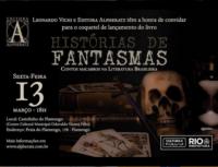 Convite: Lançamento Livro Histórias de Fantasmas